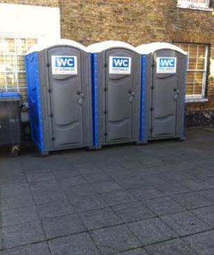toilet hire at fundraising event