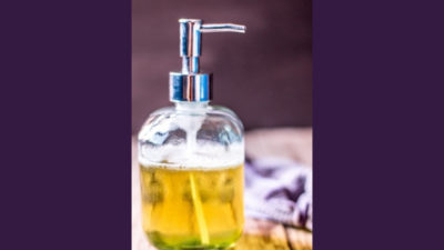 liquid soap and cream