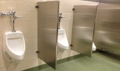 Public men urinals