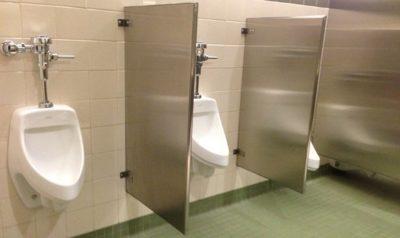 Public men urinals