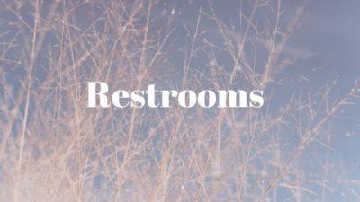 Toilet as Restrooms