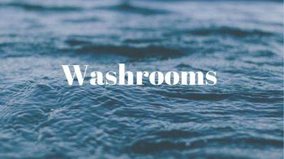 Toilet as washrooms