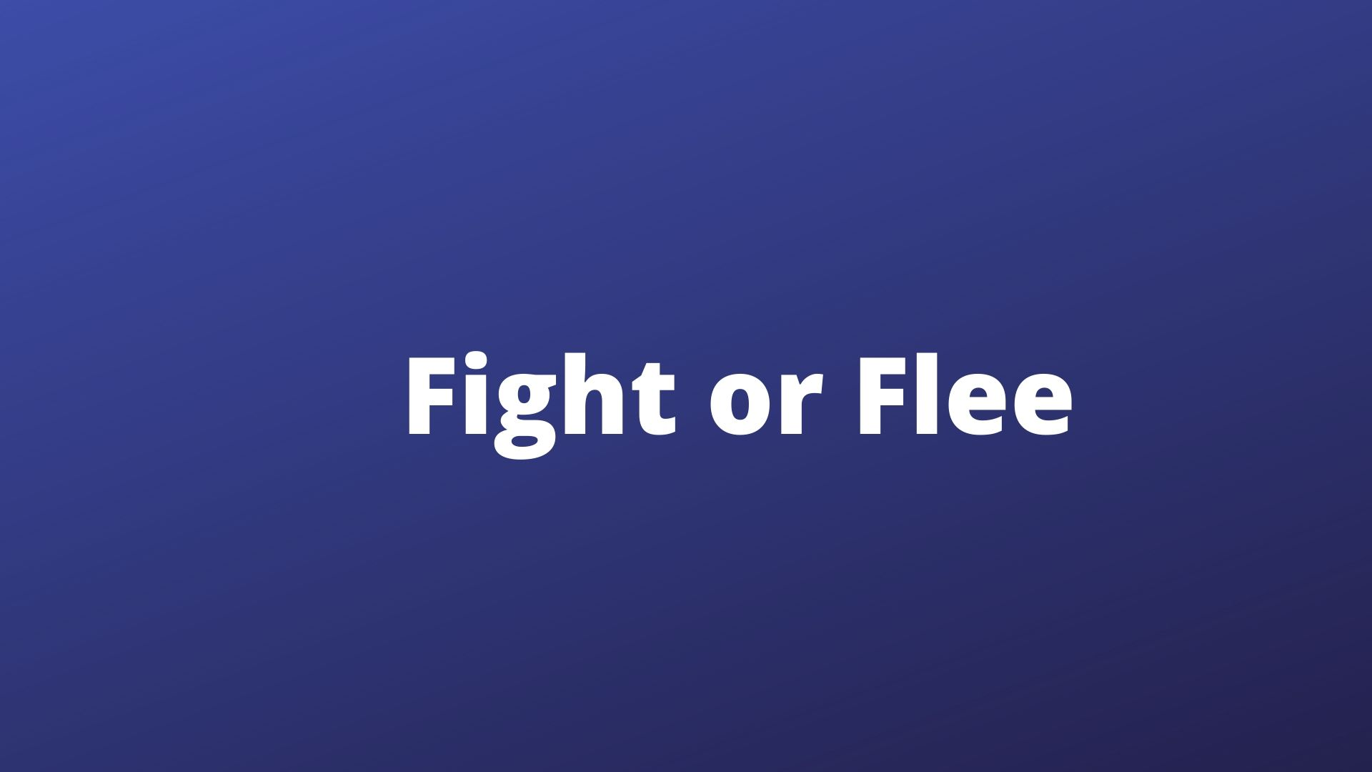 fight or flee public toilets