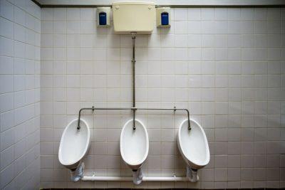 public toilet urinals