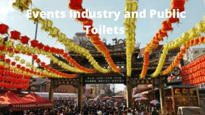 Events industry and public toilets