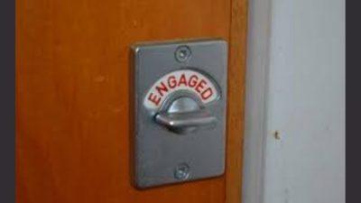 toilet engaged lock